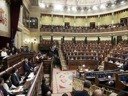 Sesión constitutiva de la XIII Legislatura del Congreso de los Diputados.
