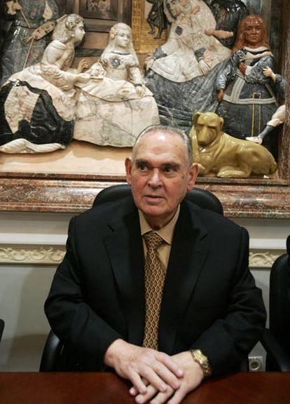 Miguel Castillejo, presidente de CajaSur durante 30 años.