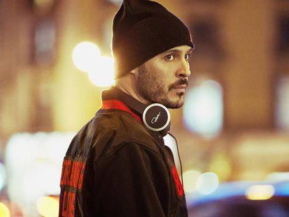 El cantante David Gilaberte, de 42 años, conocido como 'Lírico', e integrante de la banda de rap Violadores del Verso.