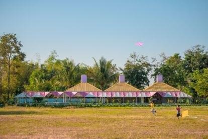 La escuela rural Bang Nong Saeng Kindergarten, en Dum Yai, Tailandia. |