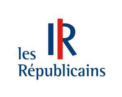 El logo del partido de Los Republicanos, la nueva formación de Sarkozy.