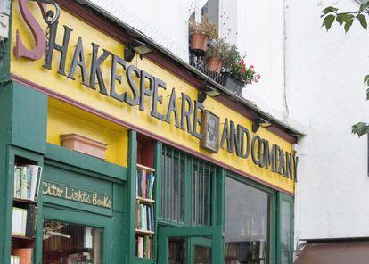 La librería Shakespeare & Company de París.