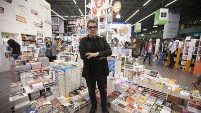 Eduardo Lago, en la pasada Feria Internacional del Libro de Guadalajara.