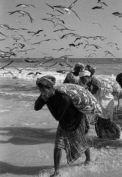 Pescadores árabes de Zufar (Omán).