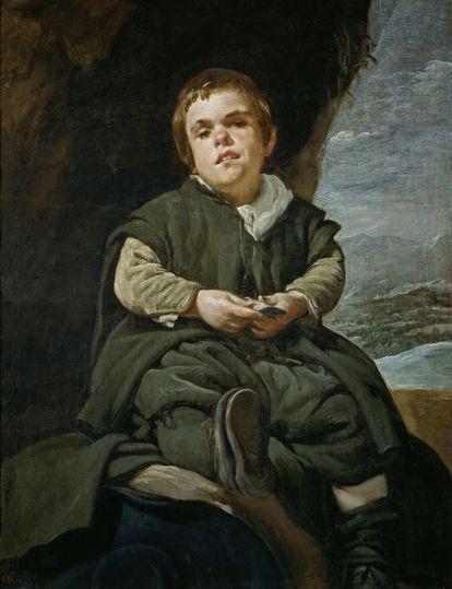 'El Niño de Vallecas', de Velázquez, en el Museo del Prado.