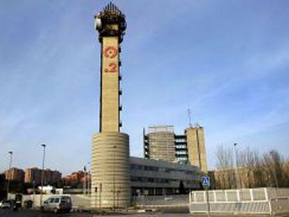 Edificio de Radio Televisión Valenciana ( RTVV) en Burjassot.