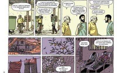 Varias viñetas de 'La casa',el nuevo cómic de Paco Roca.