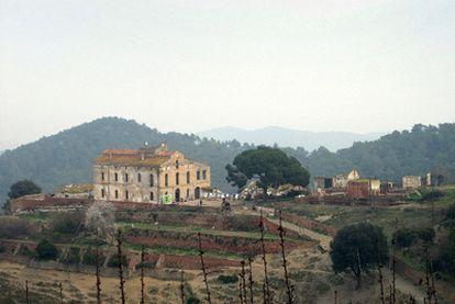 Masía de Can Valldaura, en Cerdanyola del Vallès, que se convertirá en un centro de investigación ecológica.