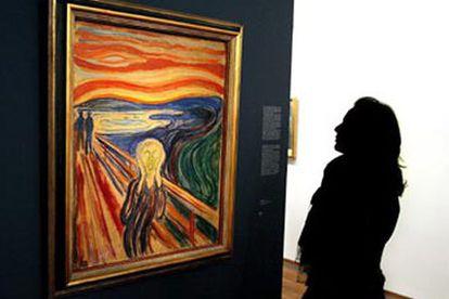 <i>El grito</i>, de Edvard Munch.