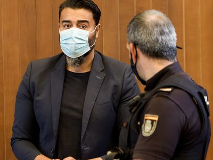 Juan Paulo Giménez, miembro del clan los Morones durante el juicio.