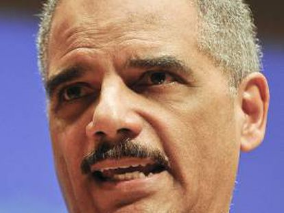 """El fiscal General de Estados Unidos, Eric Holder, dio a conocer desde la Casa Blanca una estrategia para """"combatir el robo de secretos comerciales"""" por parte de actores extranjeros. EFE/Archivo"""