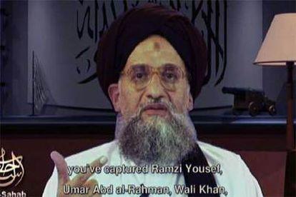 El 'número 2' de la organización terrorista Al Qaeda, Ayman al Zawahiri durante un momento del vídeo