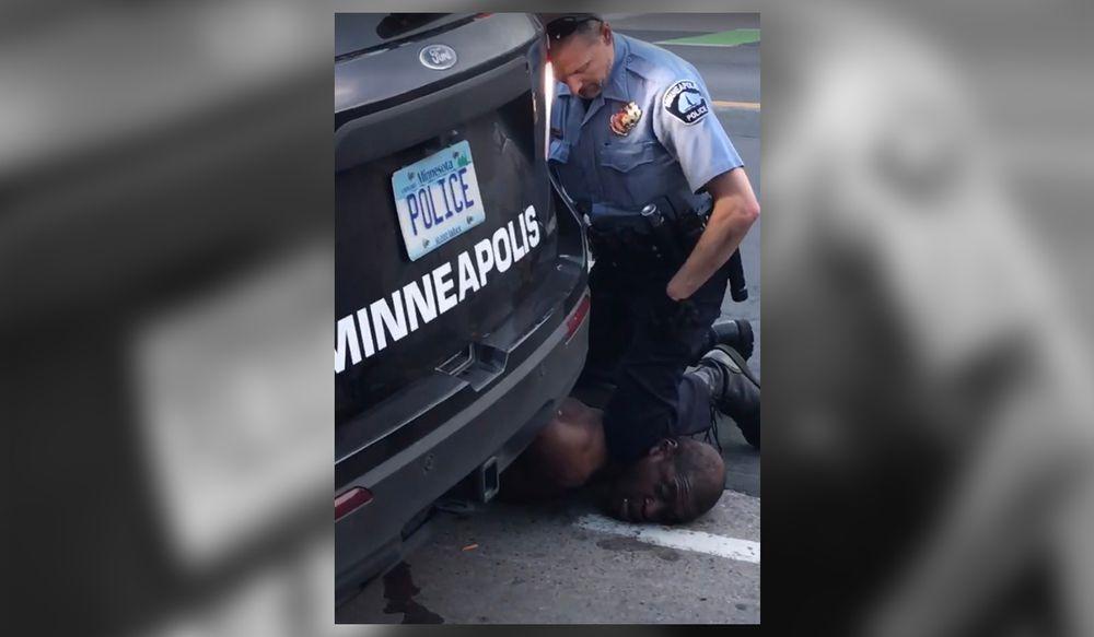 """""""No puedo respirar"""": un afroamericano muere bajo custodia policial en Minneapolis"""