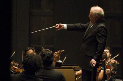 El director de orquesta Daniel Barenboim.