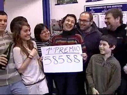 El Gordo de 'El Niño' se va a Castelldefels (Barcelona)