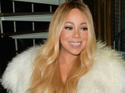 Mariah Carey, en Londres el pasado diciembre.
