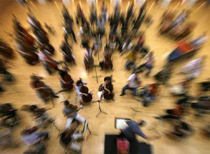 Un ensayo de la Orquesta Sinfónica de la Comunidad Valenciana.