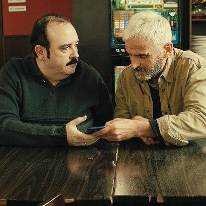 Carlos Areces y Fernando Tejero, en 'El club del paro'.