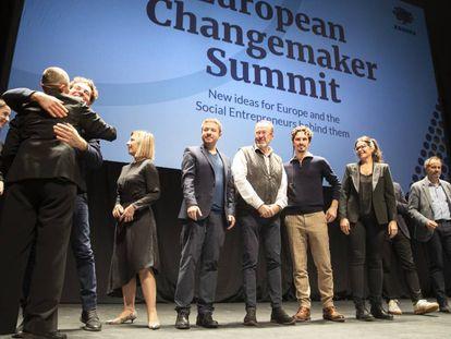 Acto de inauguración del European Changemaker Summit.