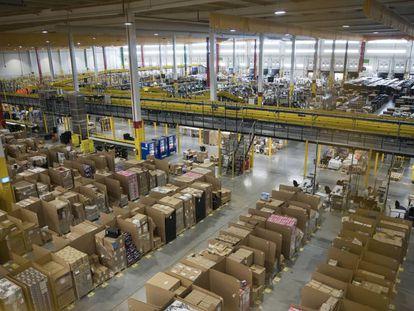 Instalaciones de Amazon en San Fernando de Henares (Madrid).