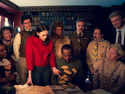 Una imagen de la segunda temporada de 'Fantasmas'.