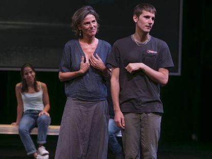 Una escena de 'La gaviota', dirigida por Àlex Rigola.