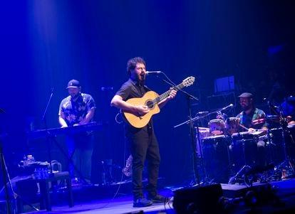 El Kanka, la noche del miércoles en el primero de los cinco conciertos que ofrecerá hasta el domingo en el Teatro Rialto.