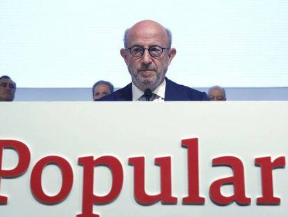 Emilio Saracho, presidente del Banco Popular. Jaime Villanueva. Vídeo: ATLAS