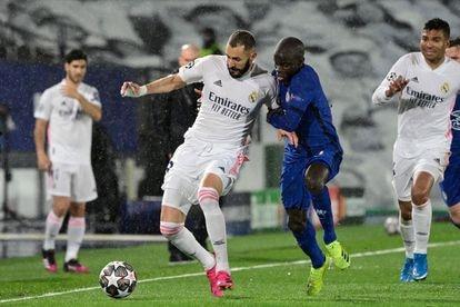 Semifinal de la Champions entre el Real Madrid y Chelsea el 27 de abril.