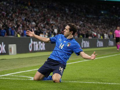 Federico Chiesa, del Juventus, uno de los campeones de la Eurocopa a los que los hinchas irán a ver con ganas a los estadios italianos.