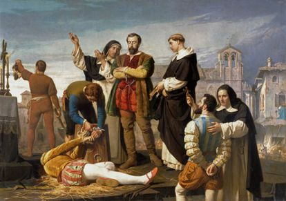 'Execution of the community members of Castilla' (1860), by Antonio Gisbert.
