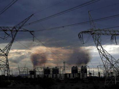 Torres eléctricas.