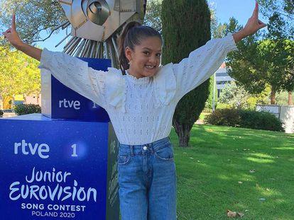 Soleá Fernández, representante de España en Eurovisión Junior 2020.