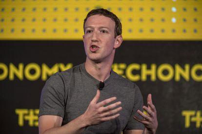 Mark Zuckerberg, CEO y fundador de Facebook, habla en la conferencia Techonomy 2016, California.