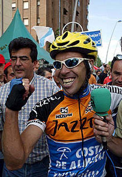 Guillamón, feliz tras su victoria.