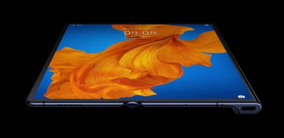 Huawei Mate Xs desplegado