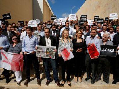 Los tres hijos de Daphne Caruana Galizia piden la dimisión del primer ministro Joseph Muscat