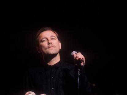 Rubén Blades, en un concierto en Nueva York.
