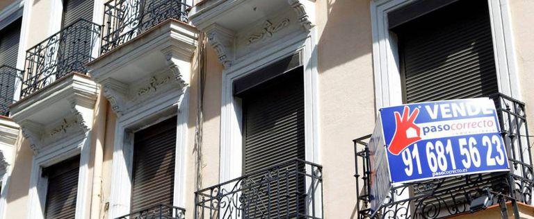 Una vivienda a la venta en Madrid.