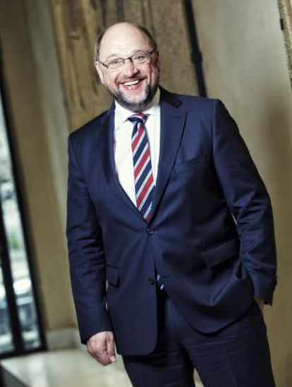 Schulz participó este sábado en la reunión de los socialdemócratas europeos en Madrid.