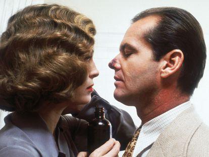 Faye Dunaway y Jack Nicholson, en 'Chinatown'.