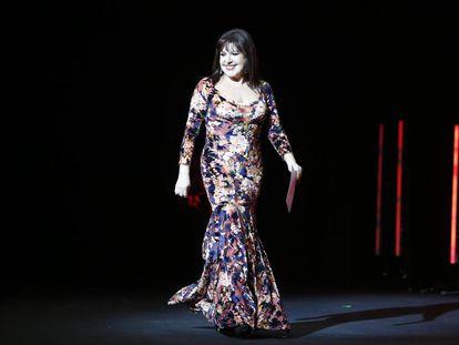 La actriz Loles León durante la gala de clausura del Festival de Cine de Málaga el pasado abril.