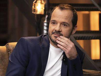 Ángel Martín, en la presentación de 'Dar cera, pulir #0'. En vídeo, promo del programa.