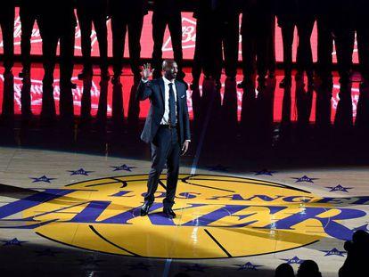 Kobe Bryant, en su homenaje.
