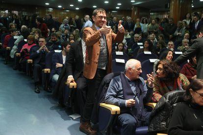 El politólogo y cofundador de Podemos, Juan Carlos Monedero, en una imagen de archivo.