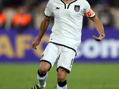Xavi Hernández, en un partido de la Champions asiática con el Al Saad.
