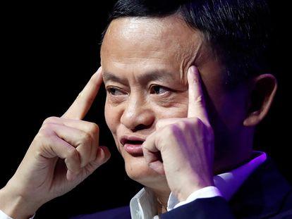 El fundador de Alibaba, Jack Ma, en París a mediados de 2019.