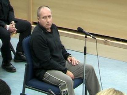 El etarra Henri Parot, durante su declaración como testigo en el juicio del 11-M.