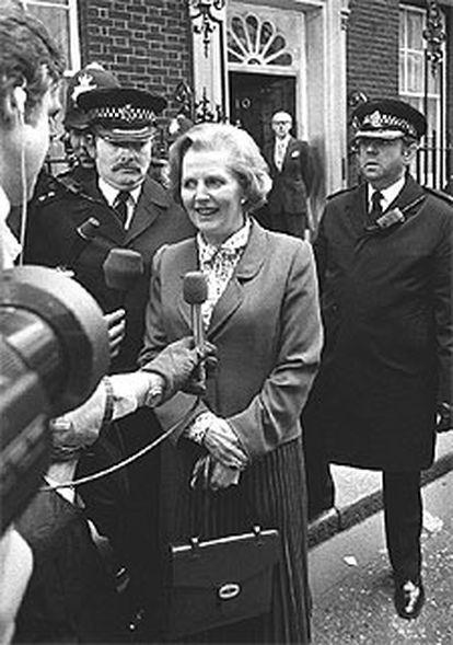 Hoy hace 25 años que Margaret Thatcher pasó a ser inquilina de Downing Street por méritos propios.