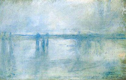 'El puente de Charing Cross, Londres', de Claude Monet, de 1901.